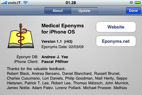 Recensione: Eponyms, un'applicazione per ricordare tutti gli eponimi medici
