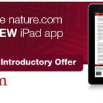Nature.com Reader, la nuova applicazione per iPad della rivista Nature