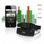 Monitoraggio del sonno con il sistema Zeo Sleep Manager, per iOS e Android