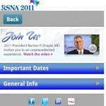 Radiologia: RSNA 2011, il congresso di Chicago su smartphones