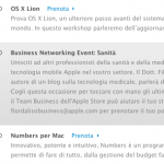 Il 28 marzo evento all'Apple Store Fiordaliso per parlare di iPad e iPhone in medicina