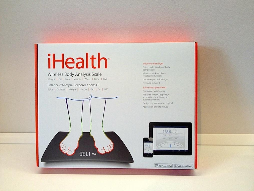 iHealth Scale0