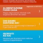 AiC Mobile, prontuario celiachia per smartphones
