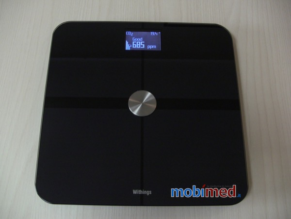 Recensione Withings Smart Body Analyzer Mobimed WS 50 bilancia frequenza cardiaca BMI iOS Android 4